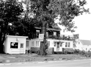 Rooney's storm damage Route 23 Craryville July 1966 (2)
