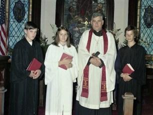 St. John's Church Confirmation Ancram 1975