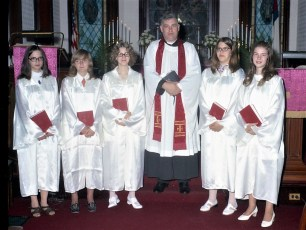 St. John's Lutheran Church Confirmation Ancram 1972