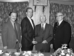 Taconic Telephone Co. Service Award Party for Clifford Sayer 1973 (2)