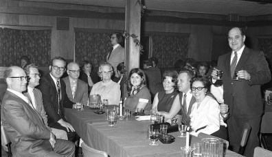 Taconic Telephone Co. Service Award Party for Clifford Sayer 1973 (3)