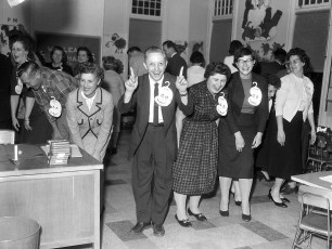 4th St. School back to school night for parents Hudson 1961 (2)