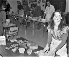 Bread making class at Hudson High School 1973 (5)