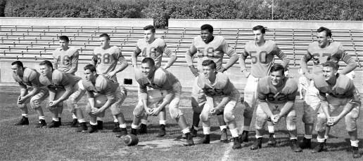 Hudson High Football Team 1957
