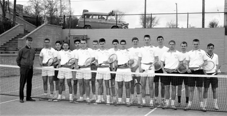 Hudson High School Tennis Team 1963
