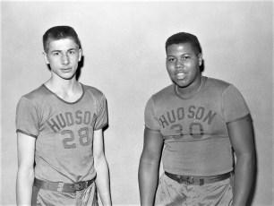 Hudson High School Varsity Basketball 1957 (1)