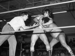 Loyal Order of Moose present Pro Wrestling at Hudson High School 1974 (1)