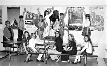 Mrs. West's Decoration Comm. J.L. Edwards School 1971
