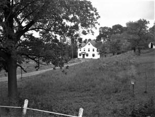 Julia Rockefeller house Main St. G'town 1949