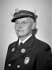 Conrad Scheu Fire Chief Hudson 1959