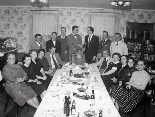 G'town Rod & Bow Club Dinner Bud & Warren Bohnsack Chairmen 1956