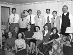Lange family Eastern Pkwy G'town 1950