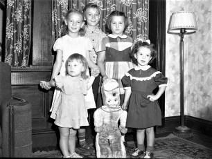 Lasher children Viewmont 1951