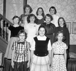 Marjorie von der Osten's Birthday Party 1956