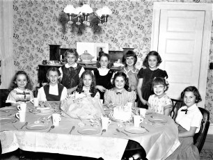 Marjorie von der Osten's 9th Birthday 1953