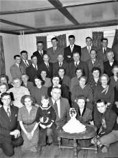 Mr & Mrs Otis Denegar Silver Wedding Ann. 1951 (2)