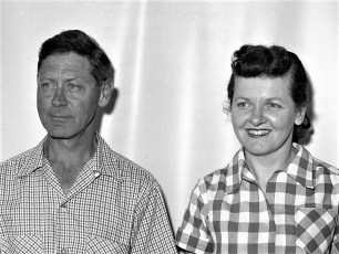 Mr. & Mrs. Charles Jeckel 1954