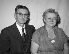 Mr. & Mrs. Floyd Kukon 1956