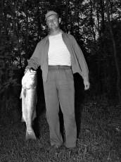 Ray Roberts striped bass Hudson River 1953