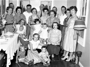 Rushmore Family & Friends 1953