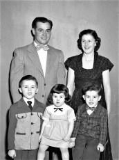 Tony, Mary, Anthony, Maryann & Tommy Bartolotta 1953