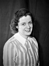 Ruth (Eckert) McAuley 1952