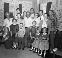 Simmons Family 1956