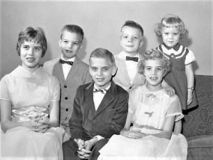 The Masten Children 1959