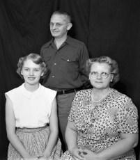 The Ted Dutton Family 1950