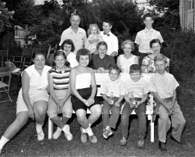 von der Osten Summer Party G'town 1956
