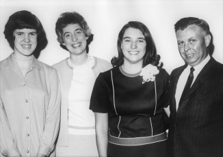 Lew, Ruth, Mary Lou and Sherry Lasher