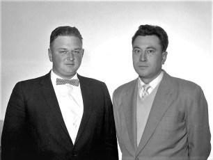 Lloyd Kukon & Clyde Denegar 1963