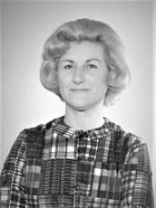Martha Schultheis 1966