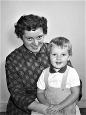 Ruth & Joan McAuley G'town 1960