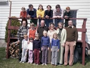 Brady Family 1977