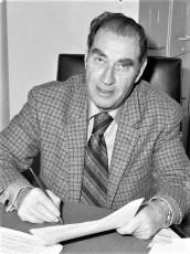 Hudson Chief of Police Egan 1973
