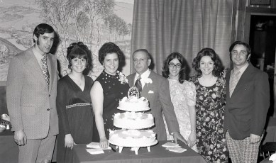 Manuli 25th Wedding Anniversary 1972