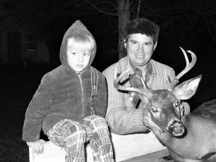 Oliver Toby Diehl with Wayne 1973