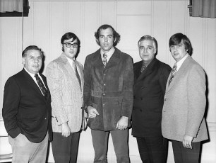 Elk's LL Awards Banquet with NY Yankee Mike Kekich 1972 (3)