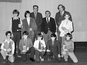 Elk's LL Awards Banquet with NY Yankee Mike Kekich 1972 (9)