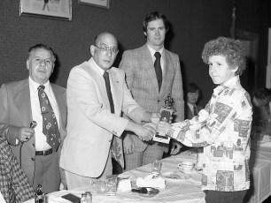 Hudson Elk's Little League Awards Dinner 1976 (2)