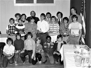 Hudson Elk's Little League Awards Dinner 1976 (6)