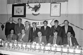 Hudson Elk's Little League Awards Dinner with Yankee Roy White 1971 (1)