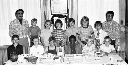 Loyal Order of Moose Little League Awards Hudson  1974