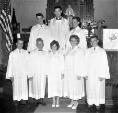 Christ Lutheran Church Confirmation 1961