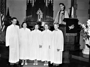 Christ's Lutheran Church Confirmation 1954