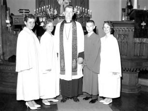 Christs Lutheran Church Confirmation Viewmont 1959