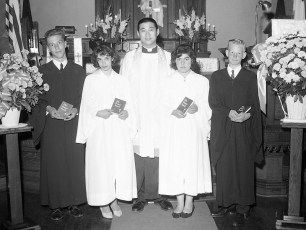 Christ's Lutheran Church Confirmation Viewmont 1962