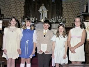 Christ's Lutheran Church First Communion Viewmont 1975