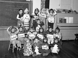 Community Friends Nursery School St. John's Lutheran Church Manorton 1976
